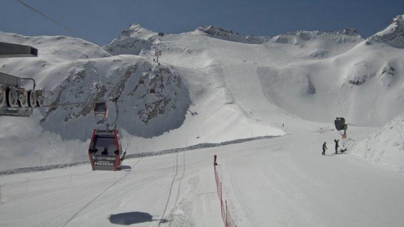 Apertura impianti ghiacciaio Presena al Passo Tonale, ma solo per gli atleti