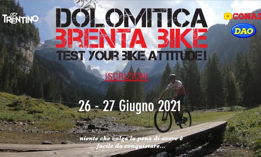 26-27 giugno – Dolomitica Brenta Bike 2021