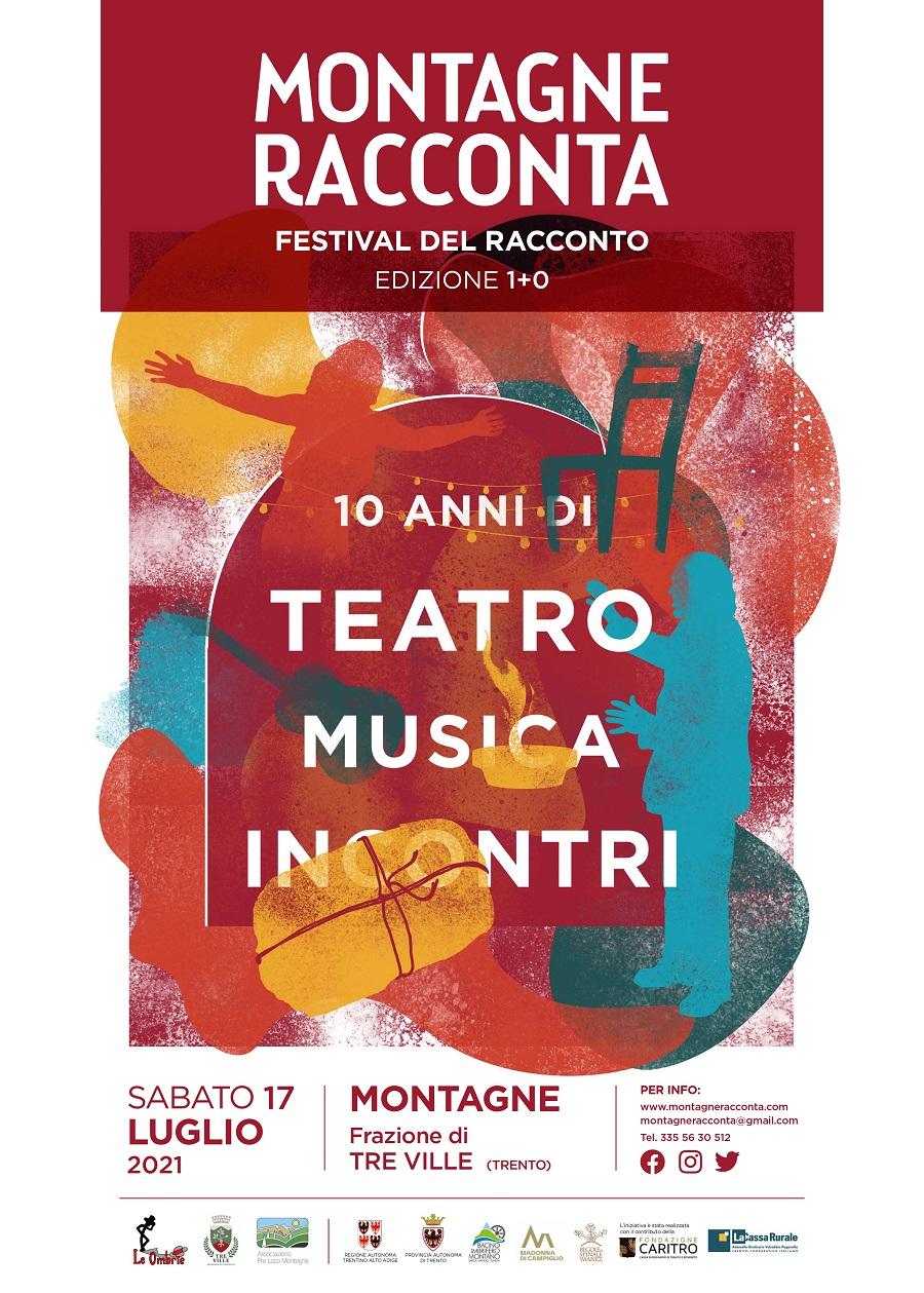 """Decima edizione di """"Montagne Racconta Festival del racconto"""""""