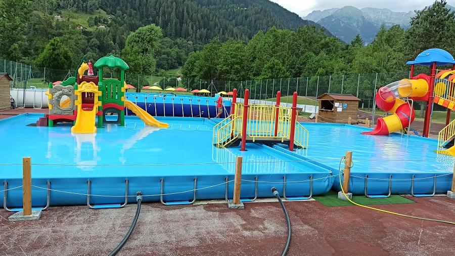Dal 26 giugno al 5 settembre è aperto il Parco Acquatico a Caderzone