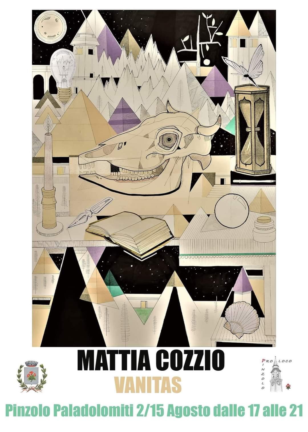 Vanitas, mostra di Mattia Cozzio al Paladolomiti dal 2 al 15 agosto
