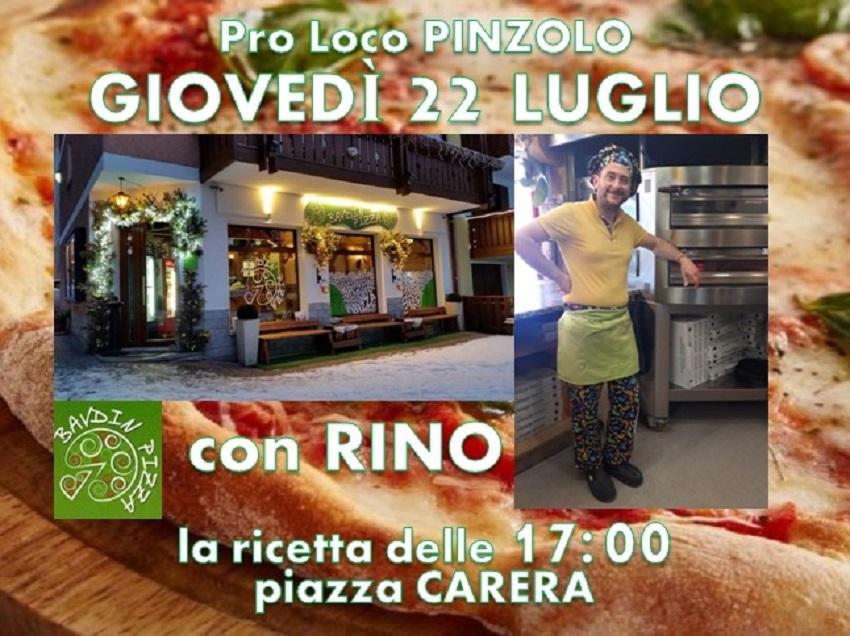 "Giovedì sera la pizza ""Rendenera"" al Cooking Show di piazza Carera"