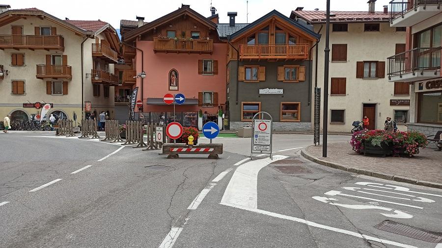 Da stasera è attiva la deviazione del traffico lungo via Fucine e via Genova