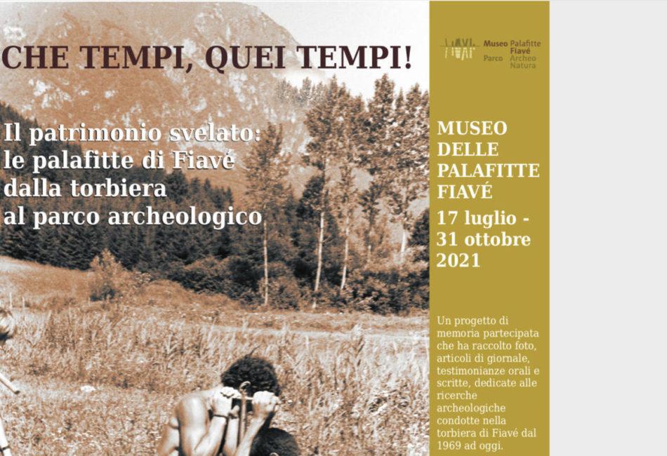 A Fiavé nel decennale delle palafitte UNESCO la mostra dedicata alle ricerche archeologiche