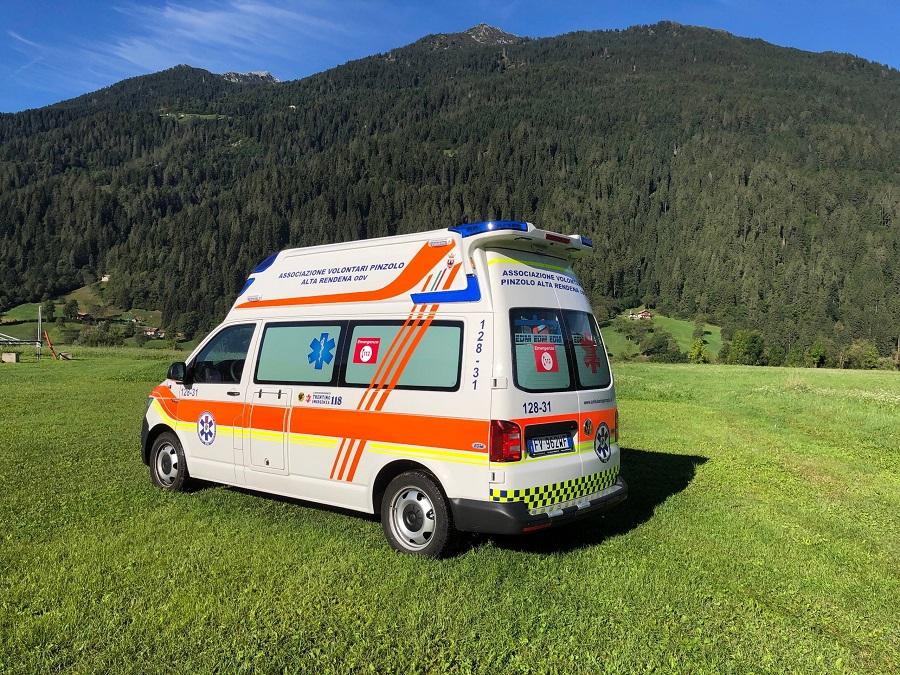 Attivazione auto sanitaria con infermiere Pinzolo – Alta Rendena dal 3 luglio al 5 settembre