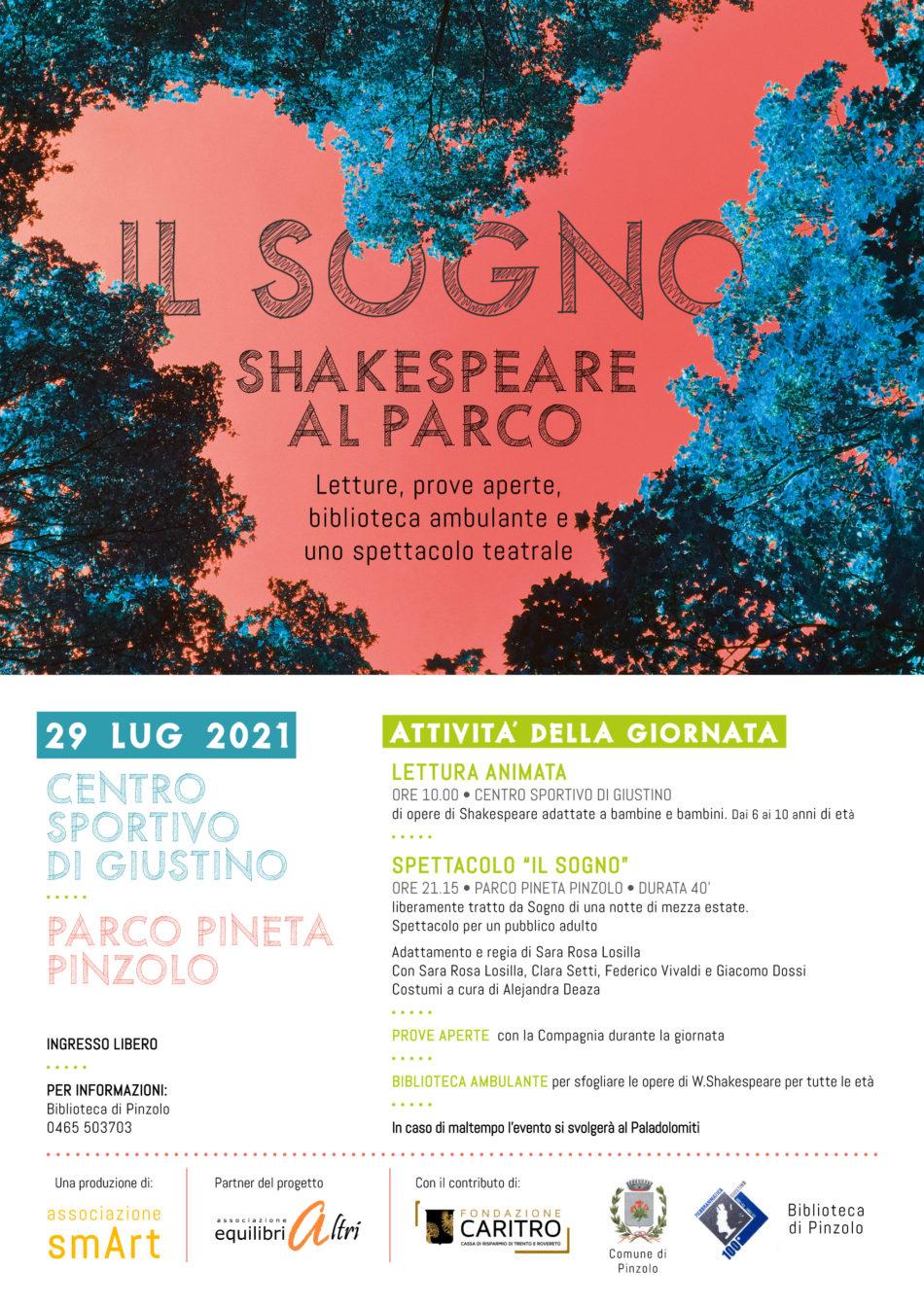 IL SOGNO: Shakespeare al parco