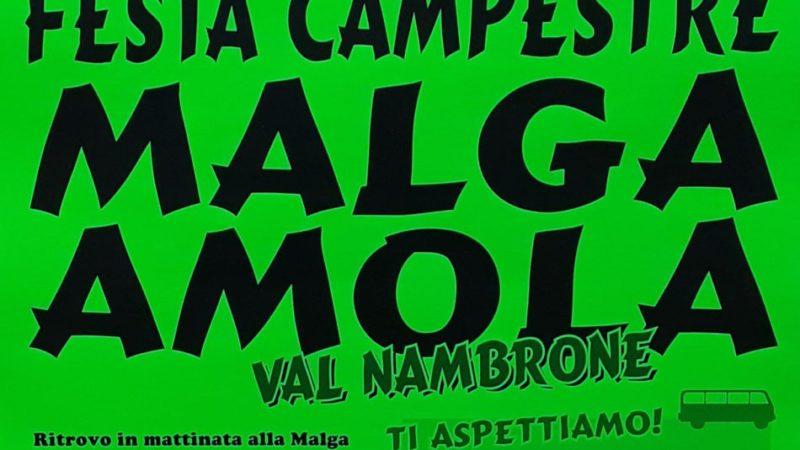 8 agosto – Festa campestre malga Amola