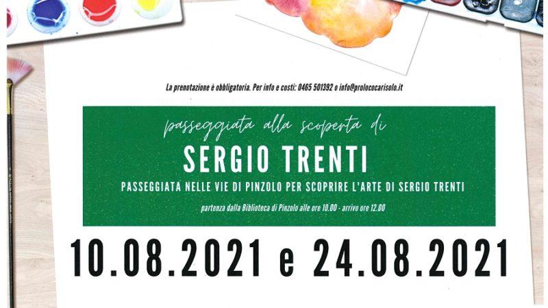 Passeggiata nelle vie di Pinzolo per scoprire l'arte di Sergio Trenti – Dal 10 al 24 agosto