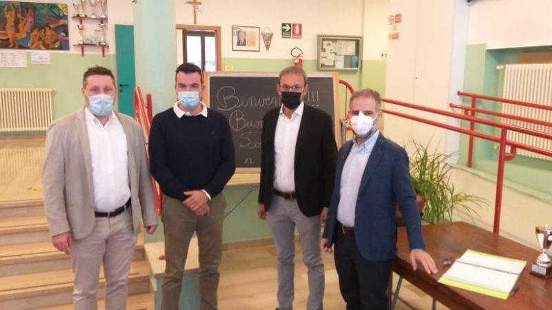 Prima campanella a Pinzolo: la visita dell'assessore provinciale Roberto Failoni