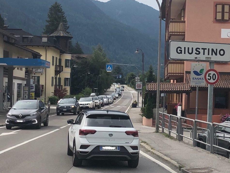 Pinzolo – Deviazione del traffico della SS 239 lungo via Fucine e via Genova…