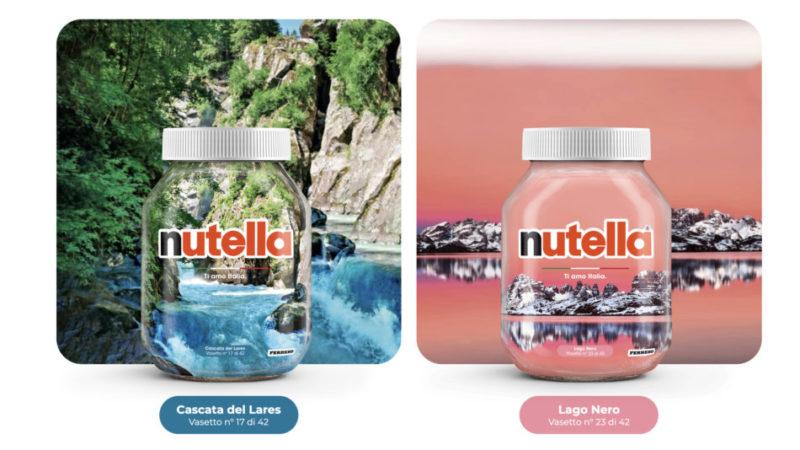 Nutella, Cascata del Lares Vasetto 17 e Lago Nero Vasetto 23
